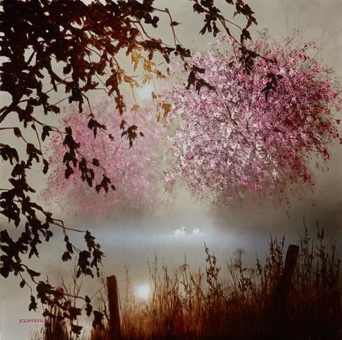 Serenity by John Waterhouse - Original Painting on Board